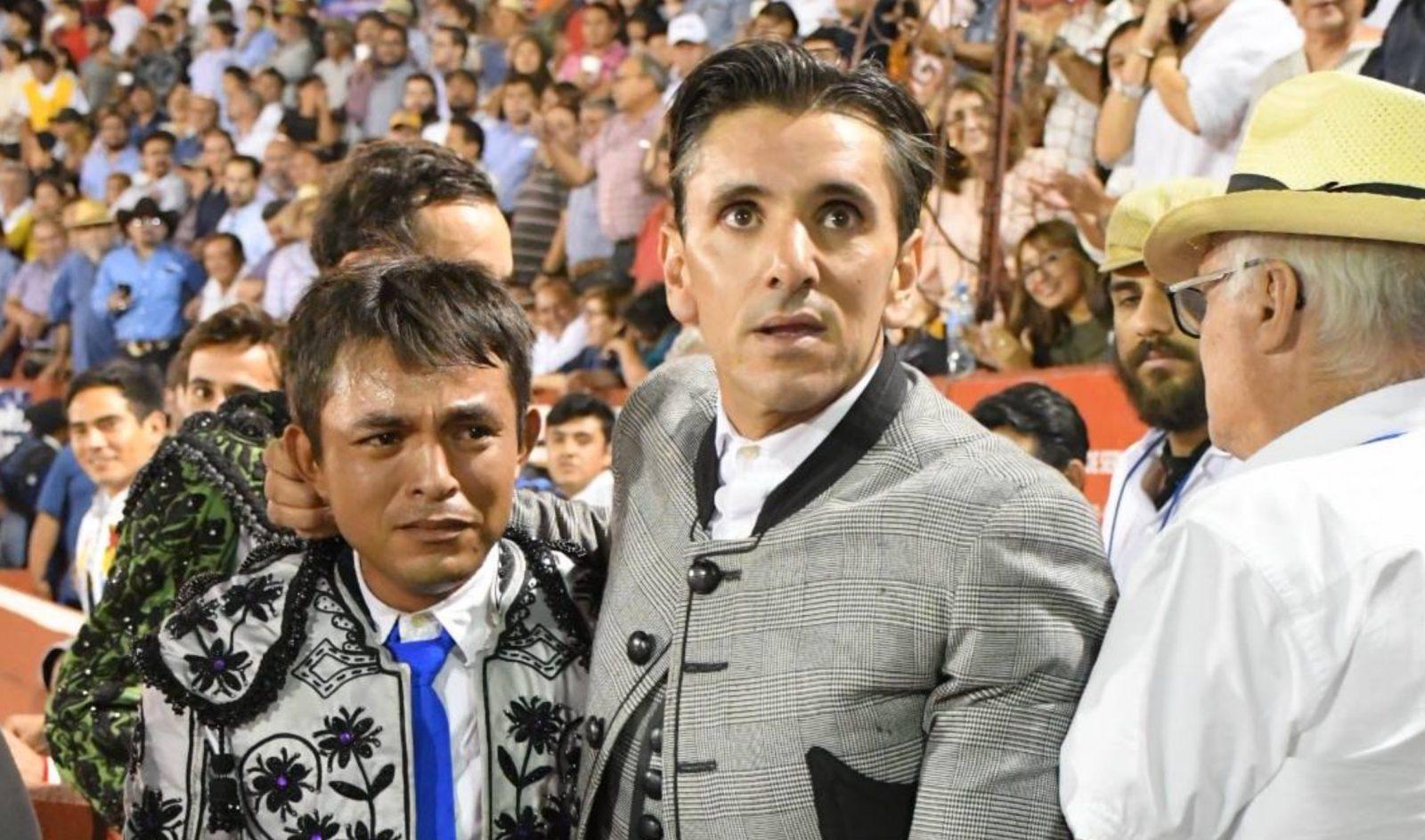 YUCATÁN (MÉXICO) (01/01/2018) – No hay billetes pour Diego Ventura – Le geste fort de Ventura qui offre un novillo à Roberto Balladares El Zorrillo pour sa prochaine corrida