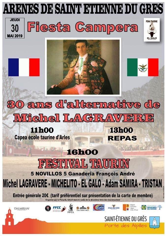 ST ETIENNE DU GRES // Fiesta Campera pour les 30 ans d'alternative de Michel Lagravère