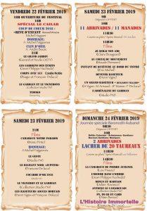SAINT GENIES - 22ème Festival du Film Taurin et Camarguaise