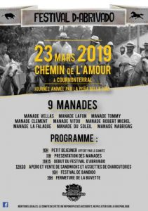 COURNONTERRAL - Festival d'abrivado