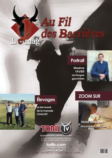 e-mag au fil des barrieres avril 2019 magazine taurin bouvine