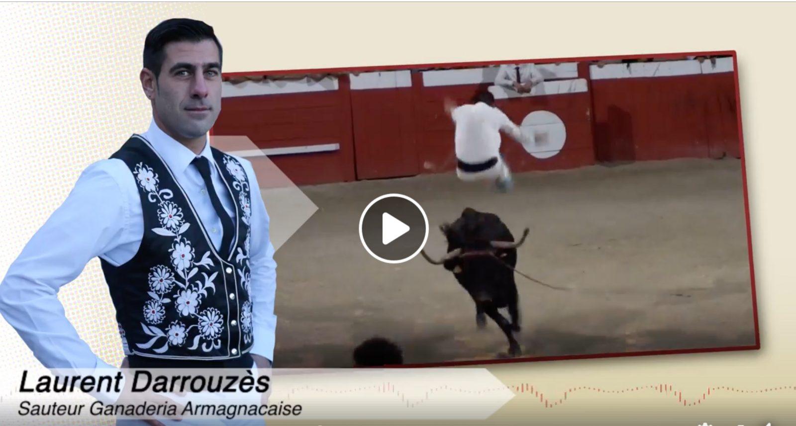 VIDEO // Interview – Laurent Darrouzès nous parle de sa blessure