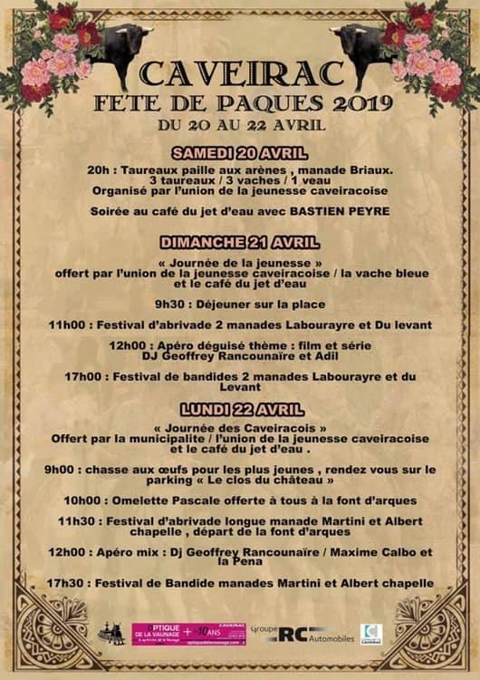 CAVEIRAC - Fête de Paques