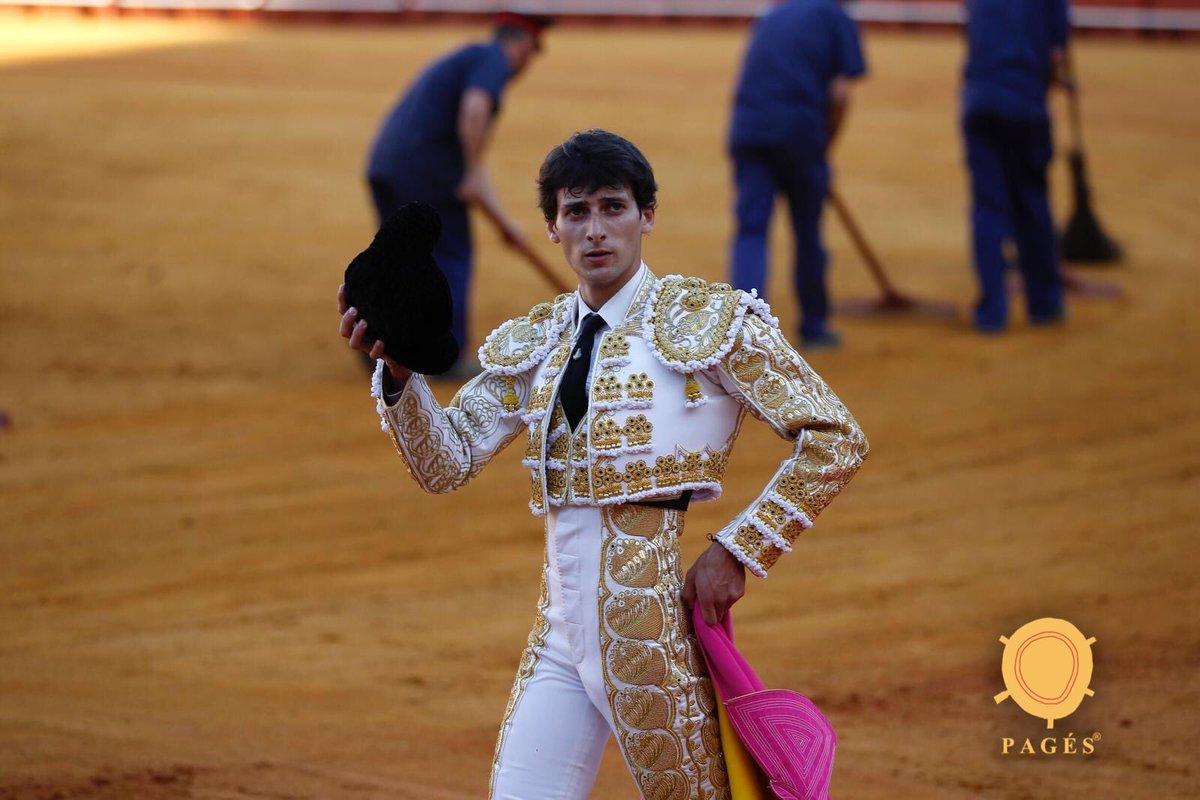 SEVILLE (26-05-2019) ANTONIO GRANDE coupe une oreille, vuelta al ruedo pour EL RAFI