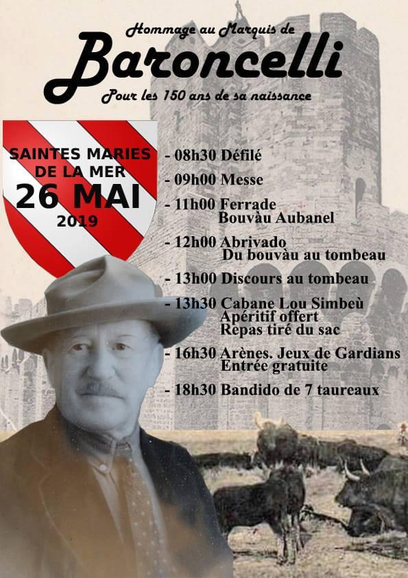 SAINTES MARIES DE LA MER - Journée baroncelli