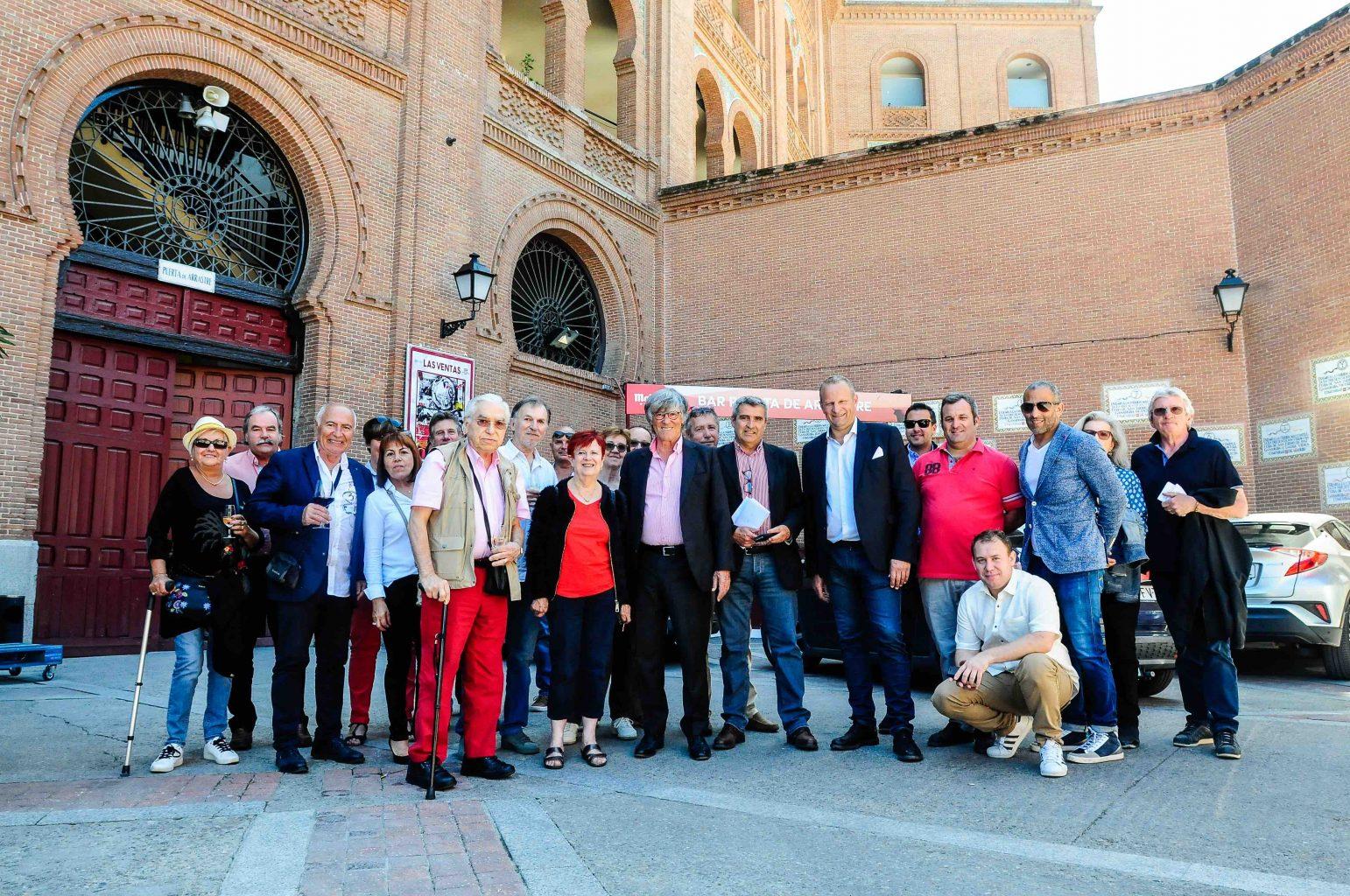 Les abonnés Nîmois invités aux arènes de MADRID