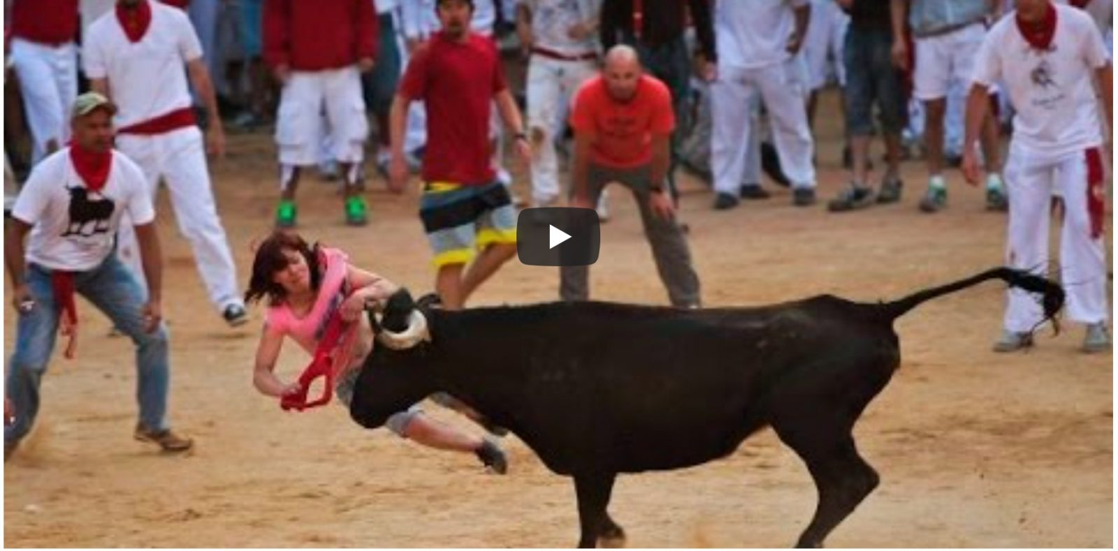 VIDEO DU NET // Compil toros en la calle