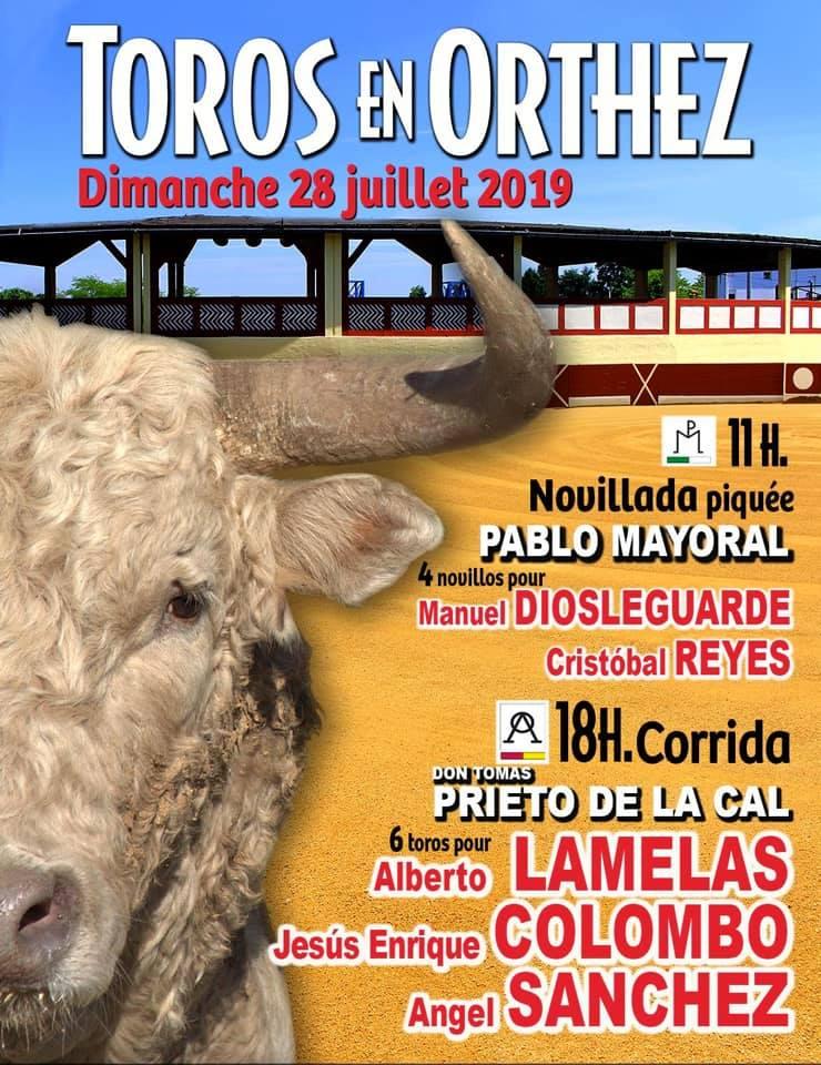 ORTHEZ. Les cartels de la journée taurine du 29 juillet