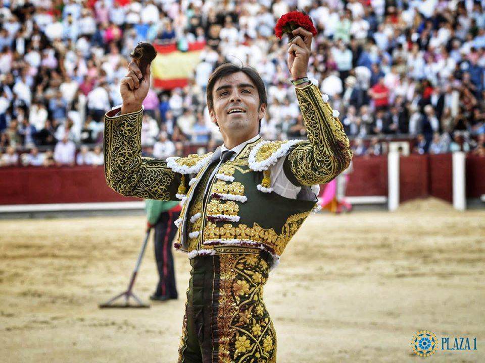 MADRID (15-05-2019) Triomphe de MIGUEL ANGEL PERERA qui ouvre sa sixième Puerta Grande!