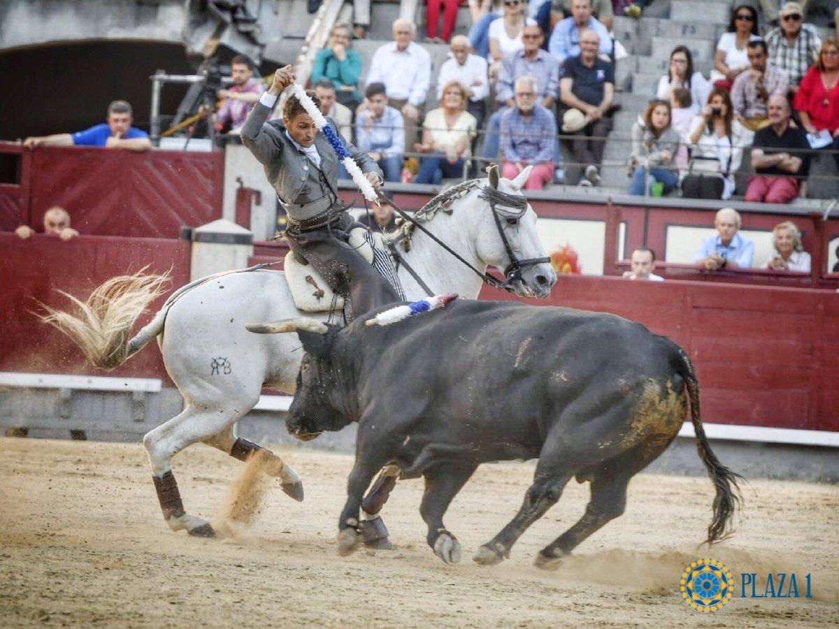 MADRID (26-05-2019) Oreille pour Martin Burgos, Joao Moura et Joao Telles