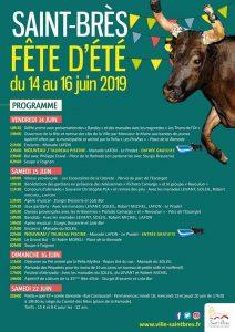 FETE D'ÉTÉ SAINT-BRÈS 2019