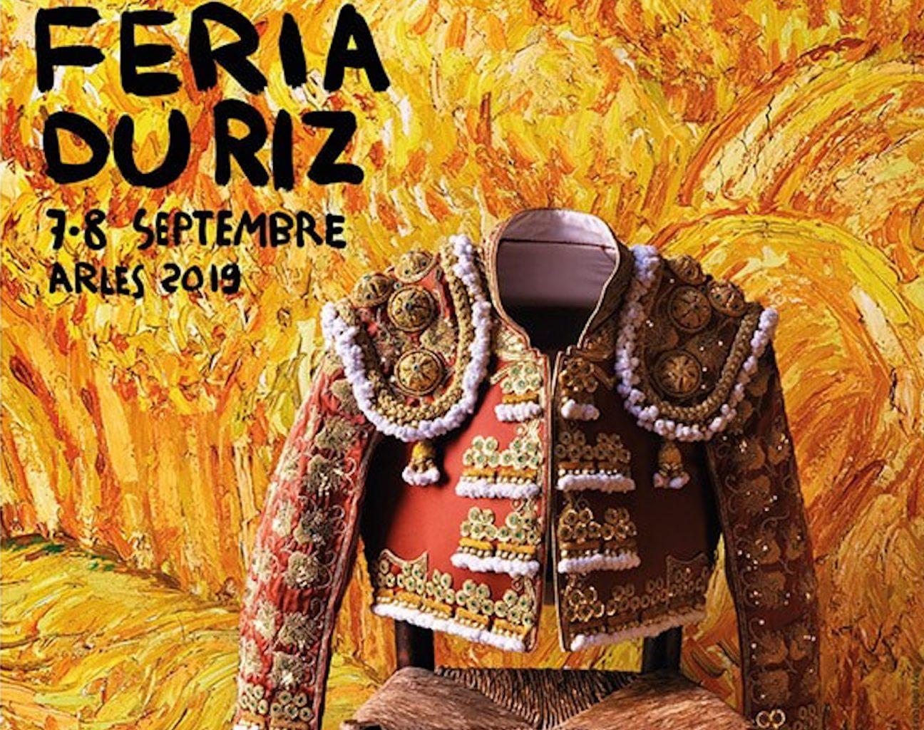 Les Arènes d'Arles dévoilent son affiche de la Féria du Riz 2019