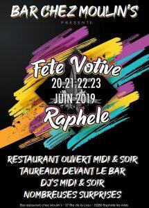 RAPHÈLE LES ARLES FETE VOTIVE 2019