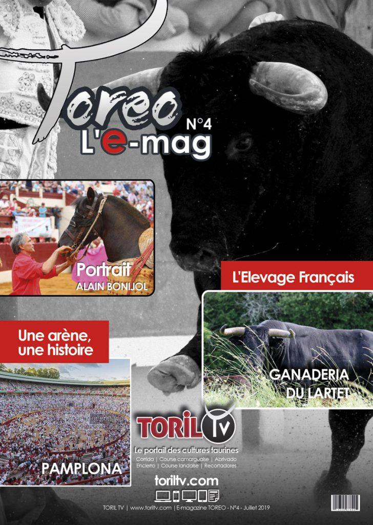e-mag toreo juillet 2019 magazine taurin corrida