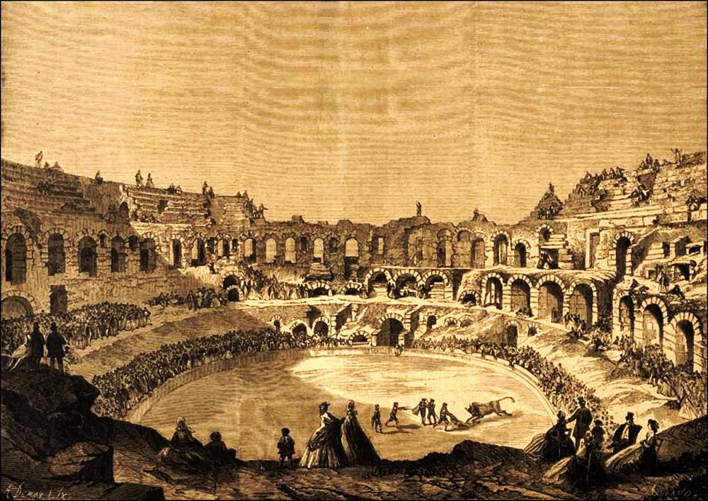 1853-1900, naissance de la tauromachie à Nîmes.