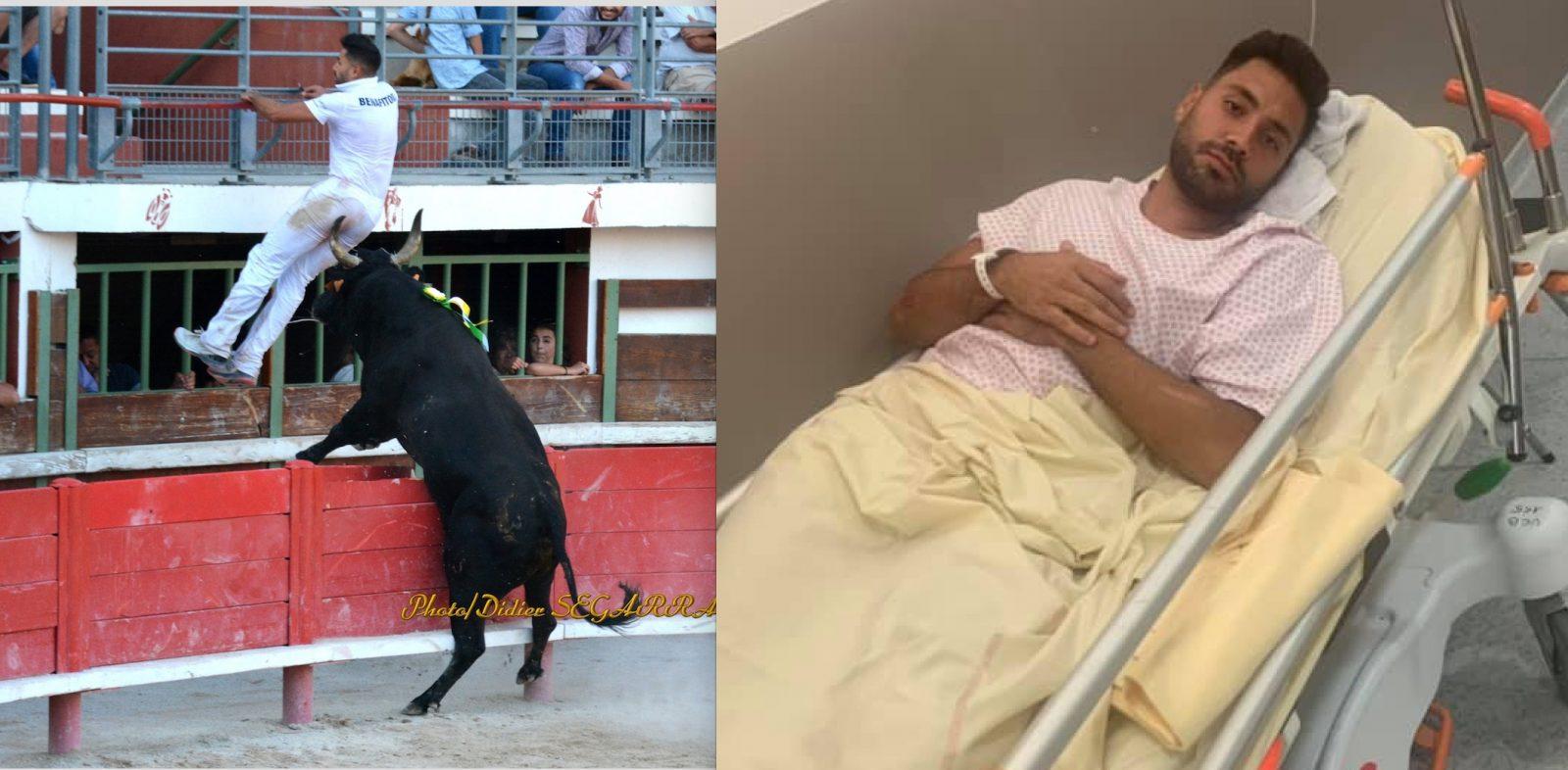 Des nouvelles d'Iliass Benafitou après son coup de corne à Vauvert