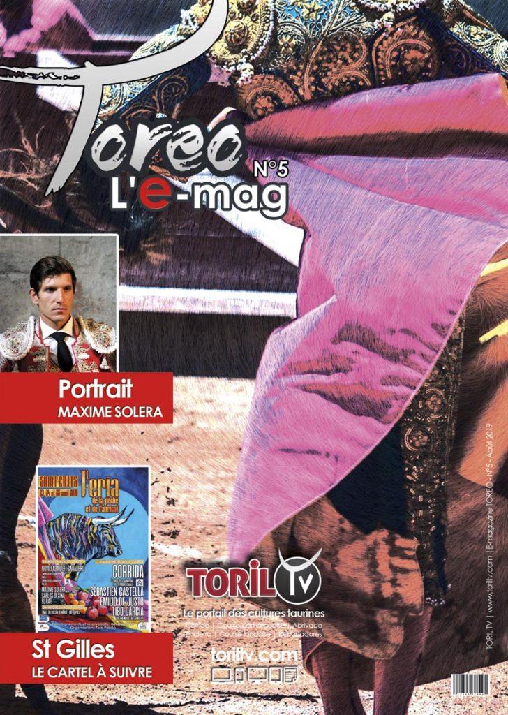 e-mag toreo aout 2019 magazine taurin corrida