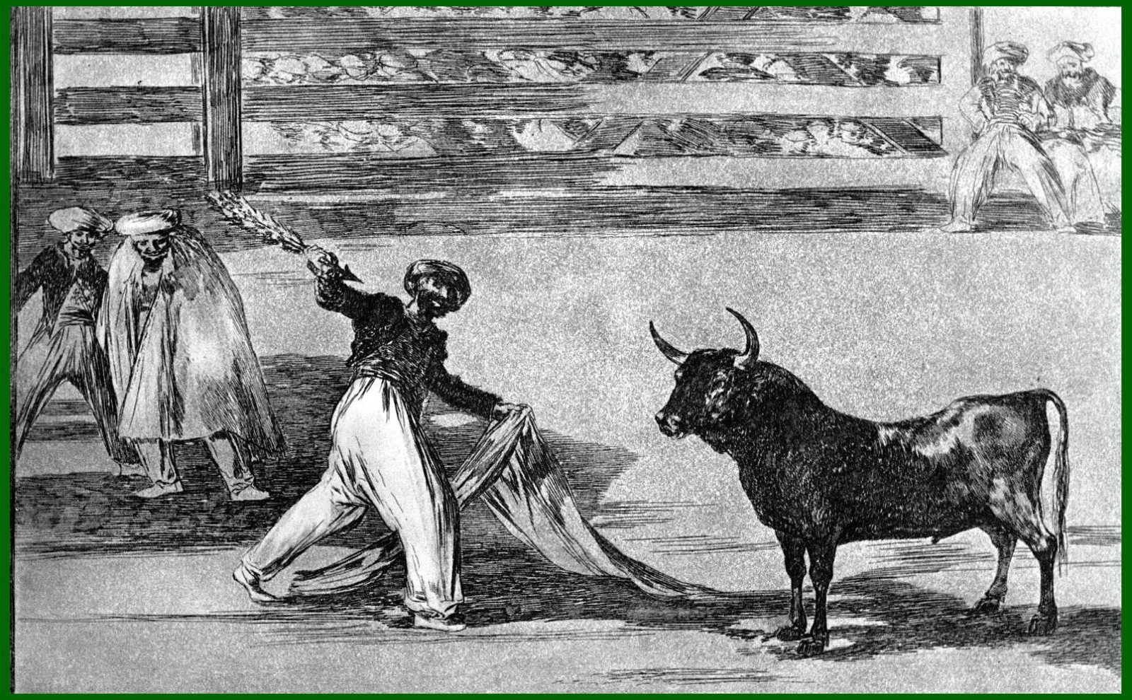 La naissance des jeux taurins