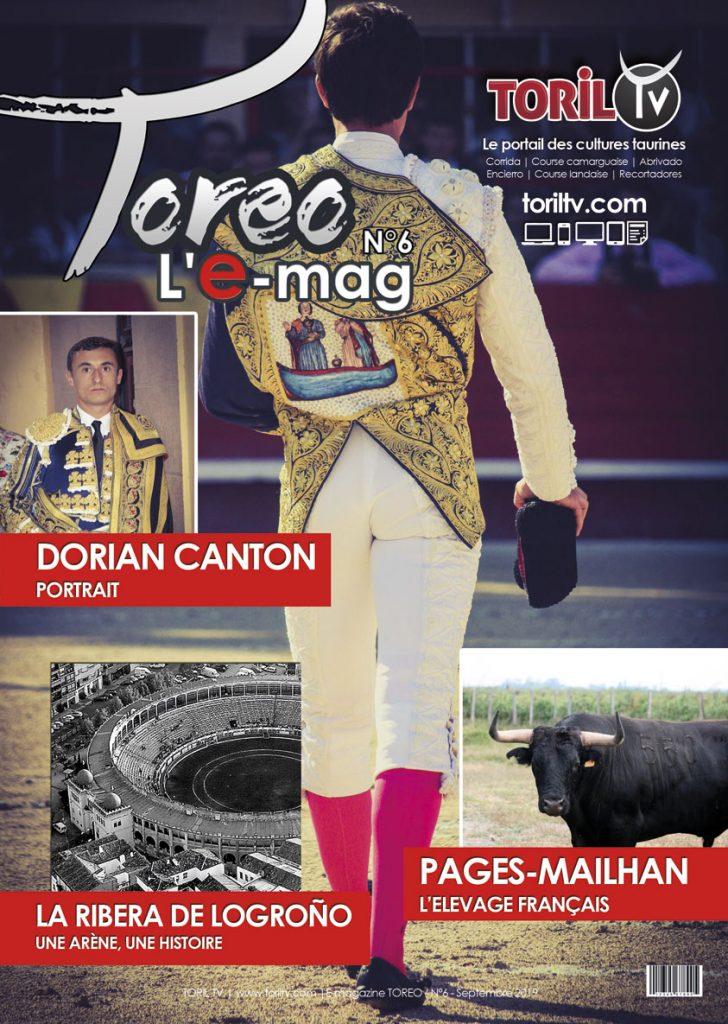 e-mag toreo septembre 2019 magazine taurin corrida
