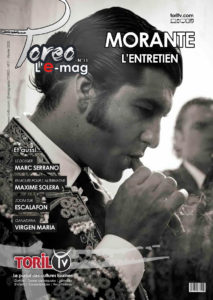 emagazine corrida france morante de la puebla