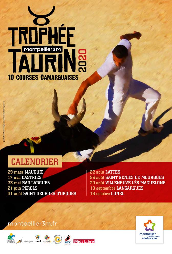 Trophée 3M 2020 - Montpellier course camarguaise