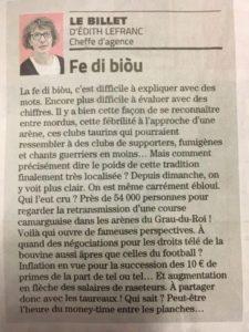article de presse midi libre bouvine la gazette la marseillaise la provence