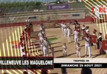 Les courses de Saint Geniès des Mourgues et Villeneuve