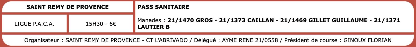 Courses camarguaises du 01 Octobre